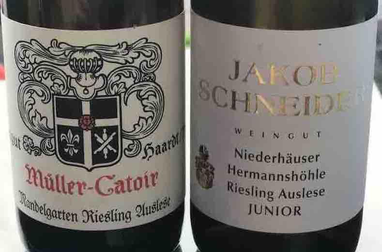 Ein süsser Vergleich – Müller Catoir vs. Jakob Schneider