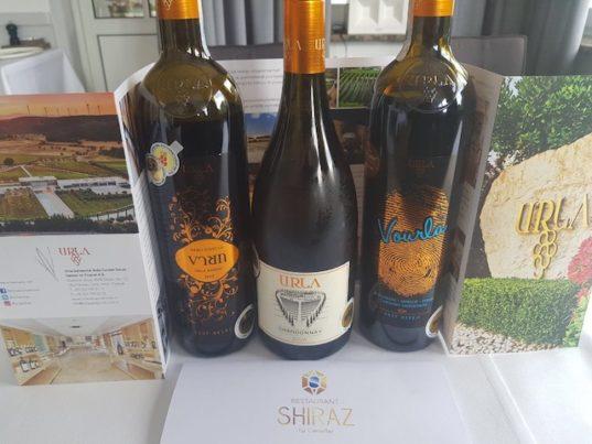 Das Restaurant Shiraz überraschte mit einer Weinprobe
