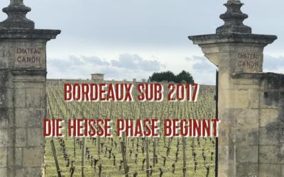 Bordeaux SUB 2017 die Kampagne geht in die heisse Phase