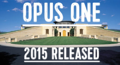 Opus One 2015 – jetzt released