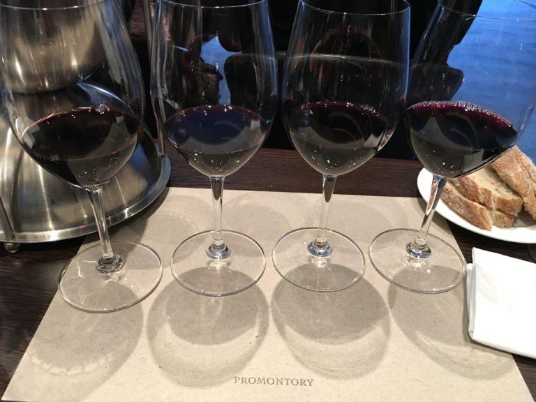 Promontory 2013 die Verkostung im CB Weinhandel