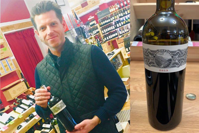 Will Harlan praesentiert den Promontory 2013 im CB Weinhandel