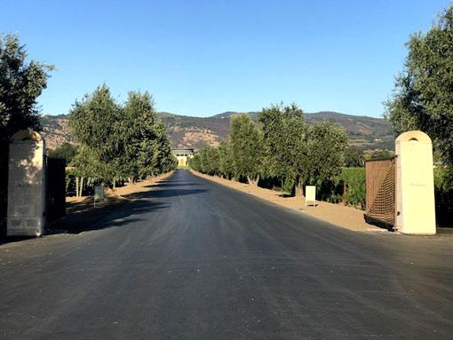 Weinbaugebiete in der Region Kalifornien/North Coast