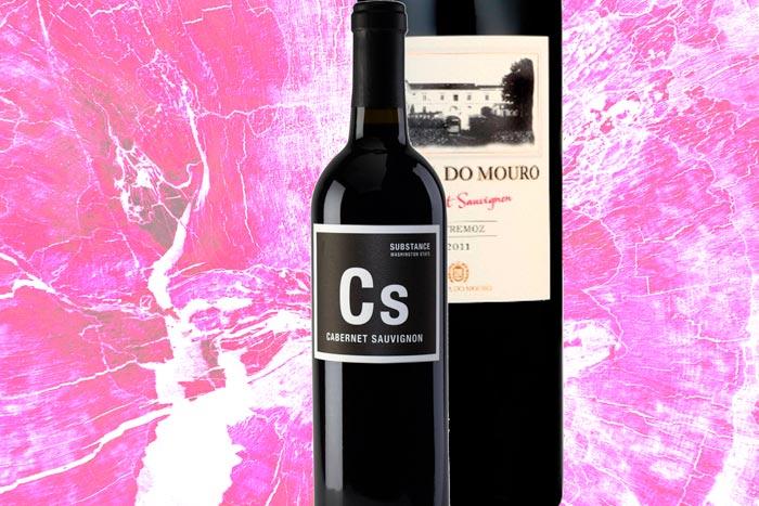 Zwei Cabernet Sauvignon-Weine