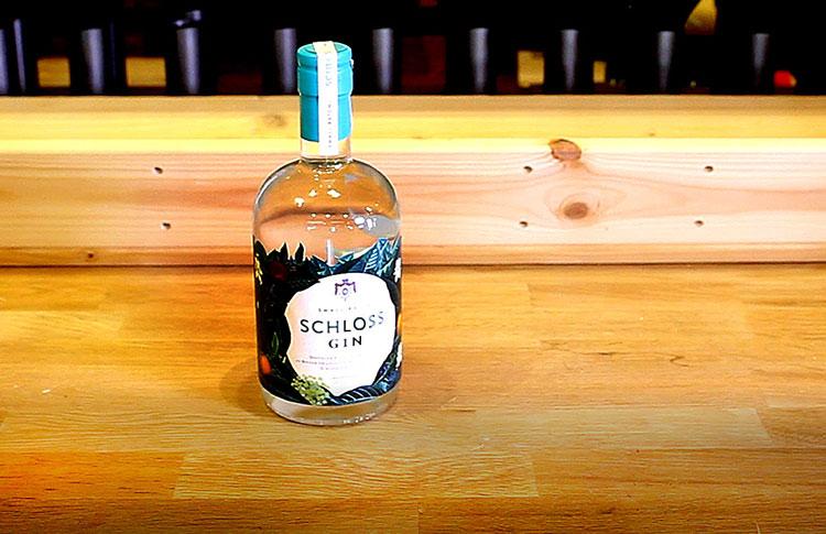 Weinportrait Gin Schloss