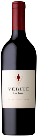 das vordere Etikett des Maya-2016 Napa Valley red wine von Dalla Valle Vineyards