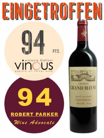 Chateau Grand Mayne 2016 Saint Emilion Best Buy