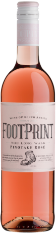 Footprint The long walk Pinotage Rosé 2017
