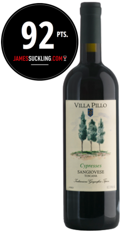 Villa Pillo Cypresses 2015 Sangiovese