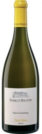 Markus Molitor Haus Klosterberg Pinot Blanc 2018 je Flasche 10.30€