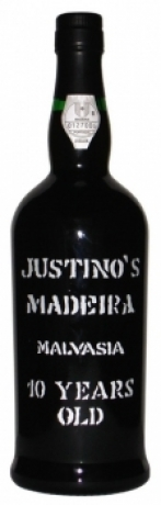 Justinos Madeira Malmsey 10 Years old 19 Vol%