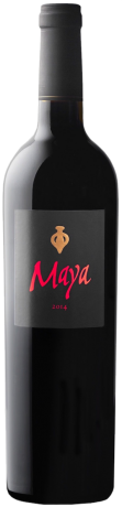 Flasche Maya 2014 Napa Valley red wine Dalla Valle Vineyards