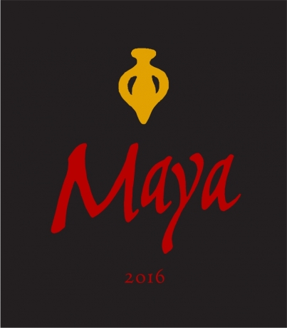 Front Maya 2016 Napa Valley red wine Dalla Valle Vineyards