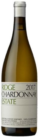 Ridge Vineyards Chardonnay 2017 Estate