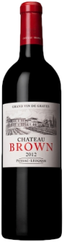 Chateau Brown 2019 rouge Pessac Leognan