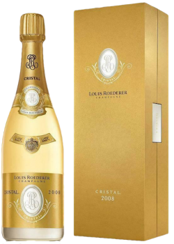 Louis Roederer Champagne Cristal 2008 blanc in Geschenkverpackung