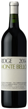 Ridge Vineyards 2016 Monte Bello Cabernet Sauvignon