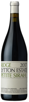 Ridge Lytton Estate Petite Syrah 2017 Sonoma County