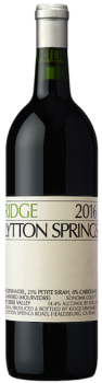 Ridge Lytton Springs 2016 Zinfandel Sonoma County Dry Creek Valley