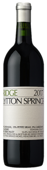 Ridge Lytton Springs 2017 Zinfandel Sonoma County Dry Creek Valley